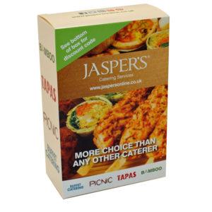 catering box jasper's
